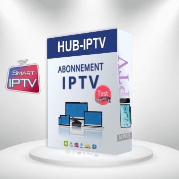 ABONNEMENT IPTV TEST 7 JOURS